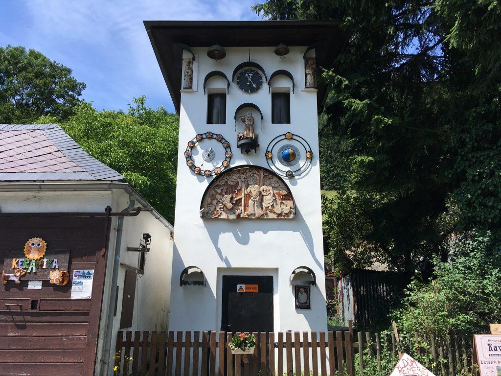 Jediný vesnický orloj v ČR