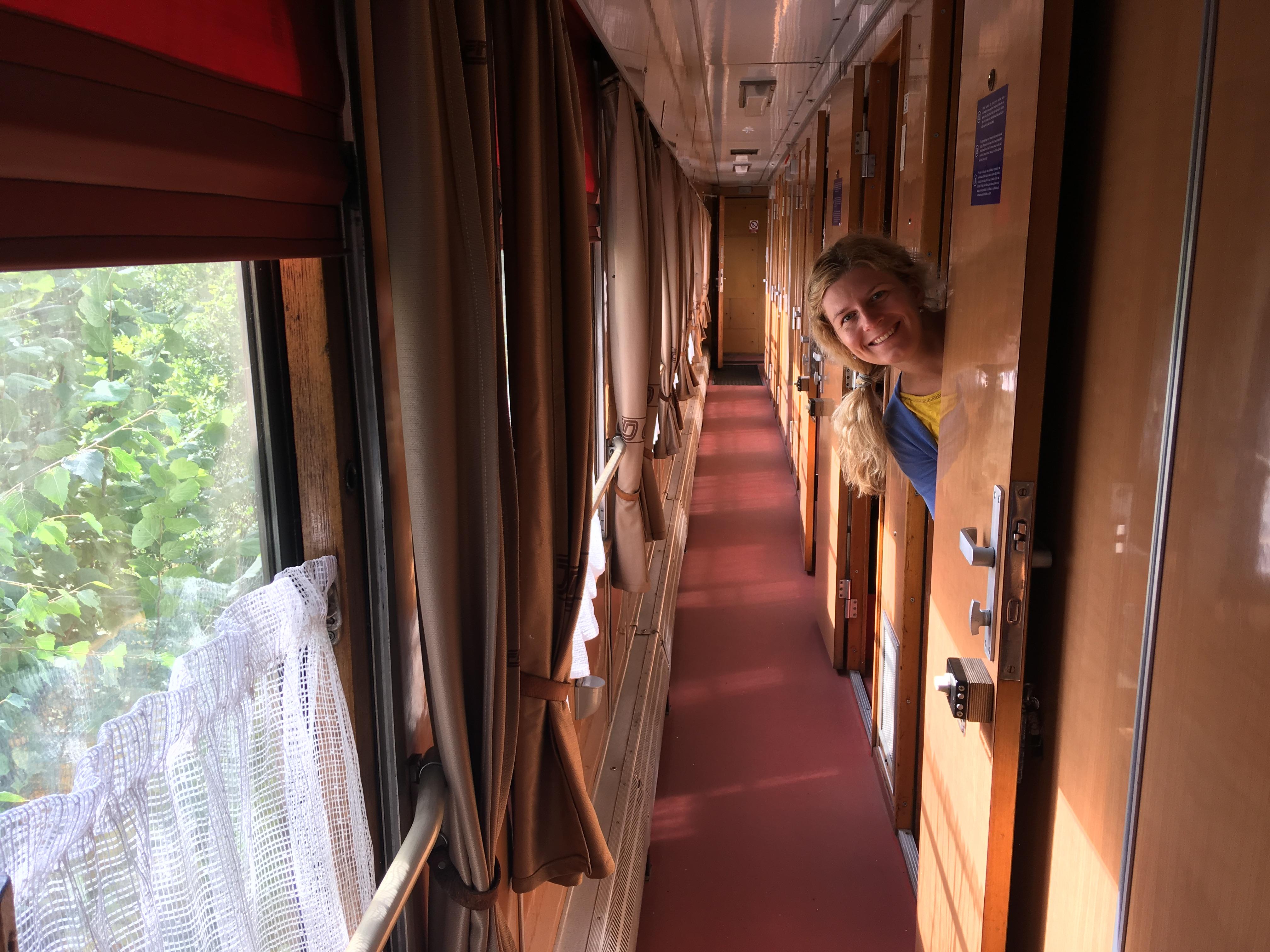 Ubytování ve vagónu pivovaru Kocour
