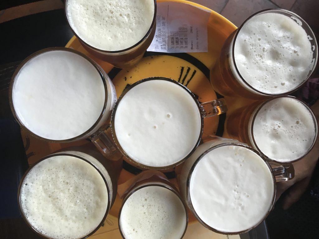 ohutnávka piv od Kocoura