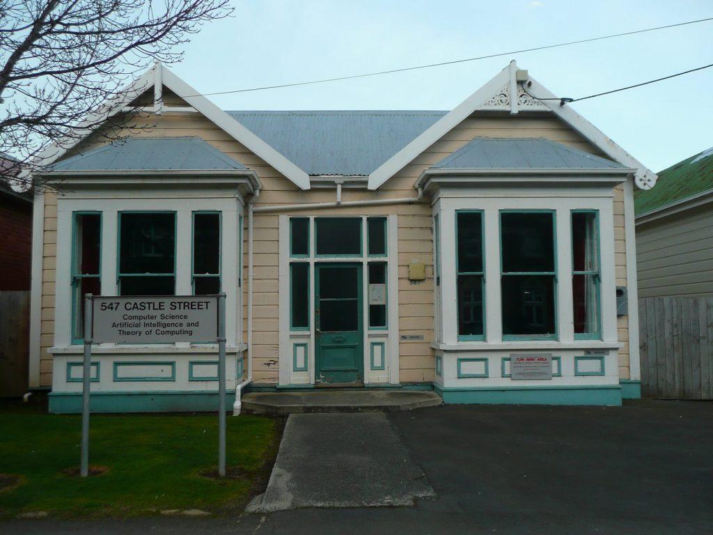 Katedra informatiky - Otago University. Já chodila na Maori studies.