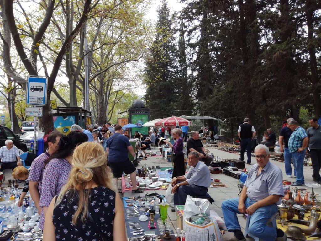 V Tbilisi na trhu