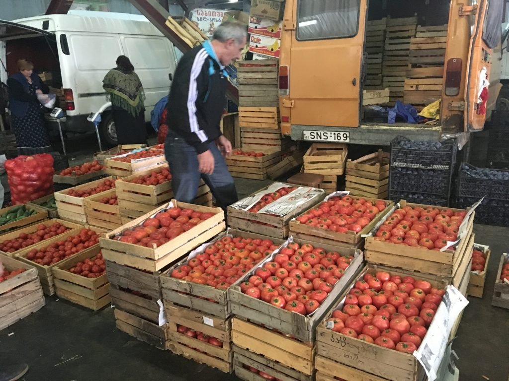 rajčata v Gruzii chutnají jako nikde jinde!