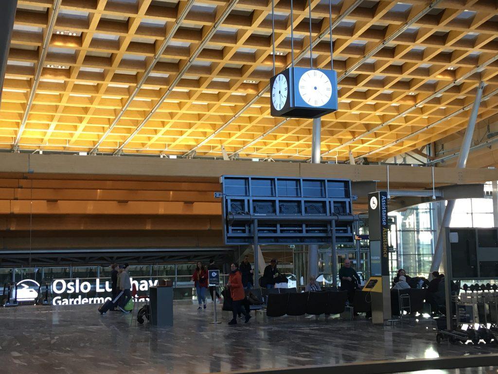 Letiště v Oslu