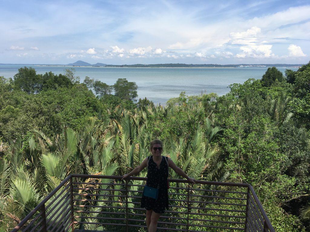 Rozhledna na Pulau Ubin