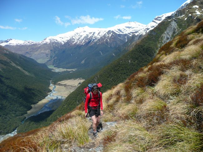Mt Aspiring trek