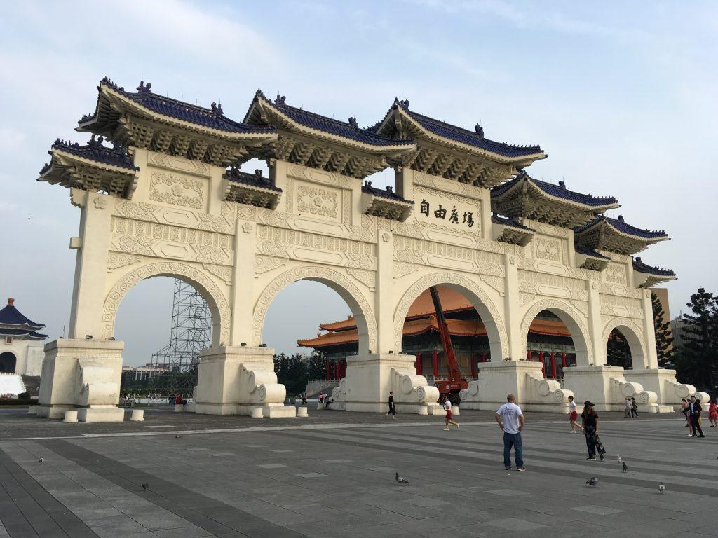 Čankajškův památník v Taipei