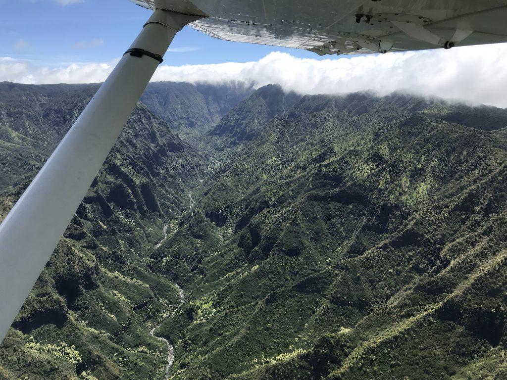 Vyhlídkový let nad Kauai