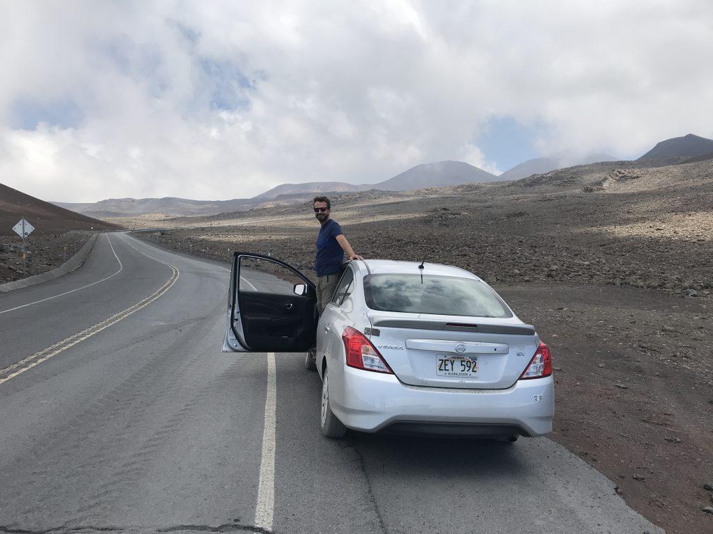 Tímhle autem jsme vyjeli až na Mauna Keu!