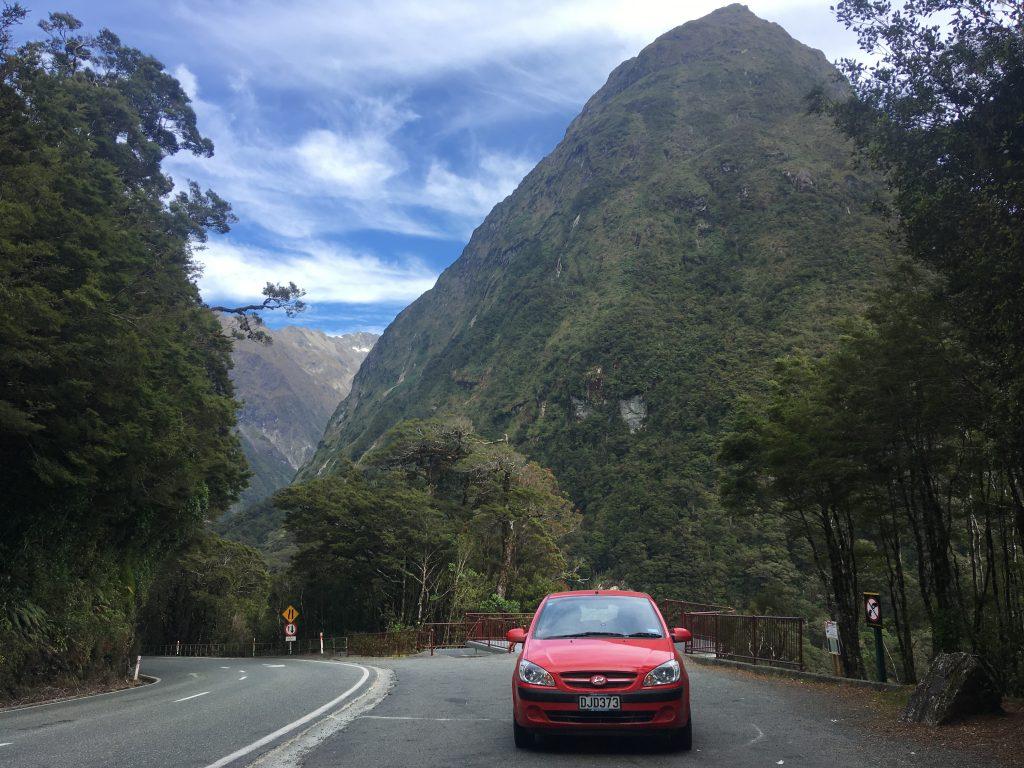 Cesta Fiordlandem