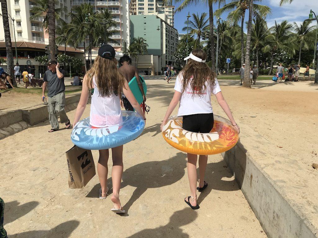 Cestou z Waikiki pláže, Havaj