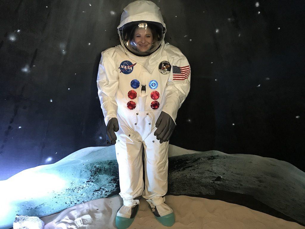 Já jako astronautka - Techmania