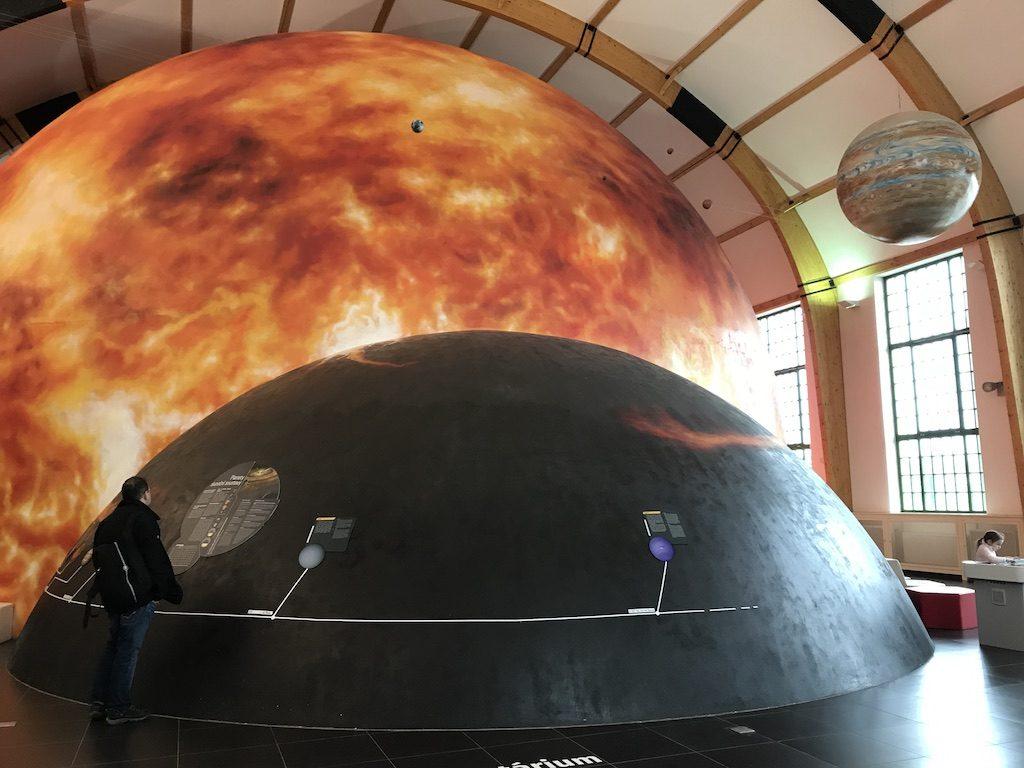 Planetárium v Techmanii