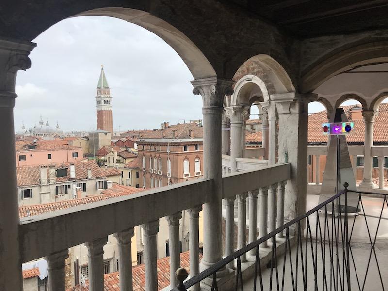 Výhled z věže paláce Contarini del Bavolo