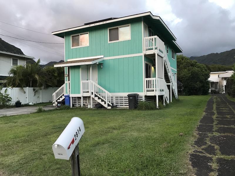Naše ubytování v Honolulu