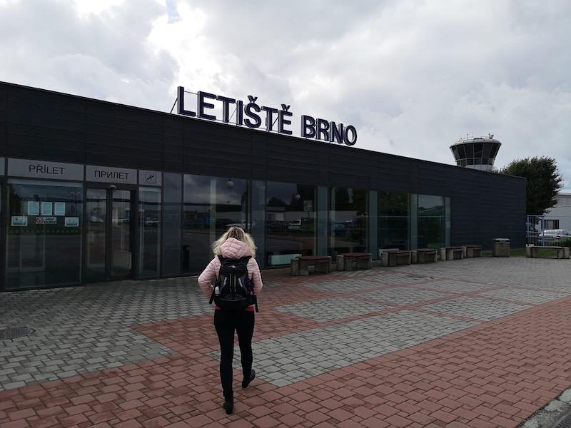 Brněnský letiště je moderní a rozomilý