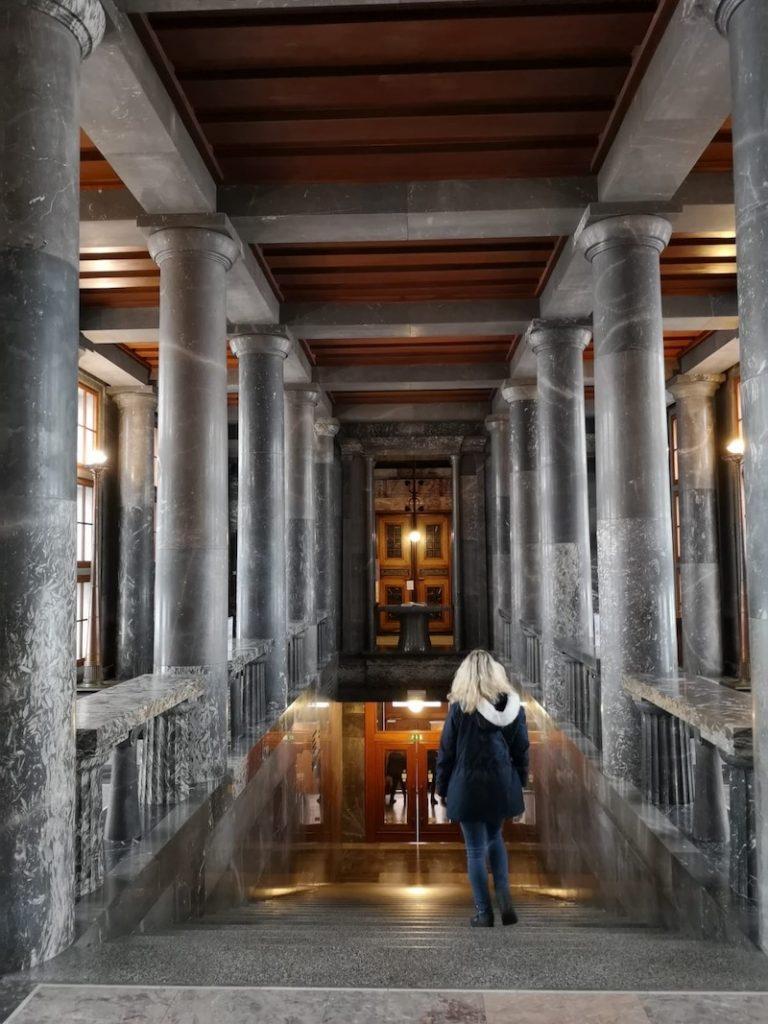 Knihovna uvnitř