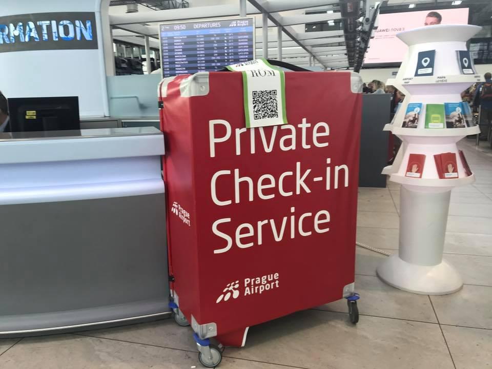 Private check-in letiště Praha