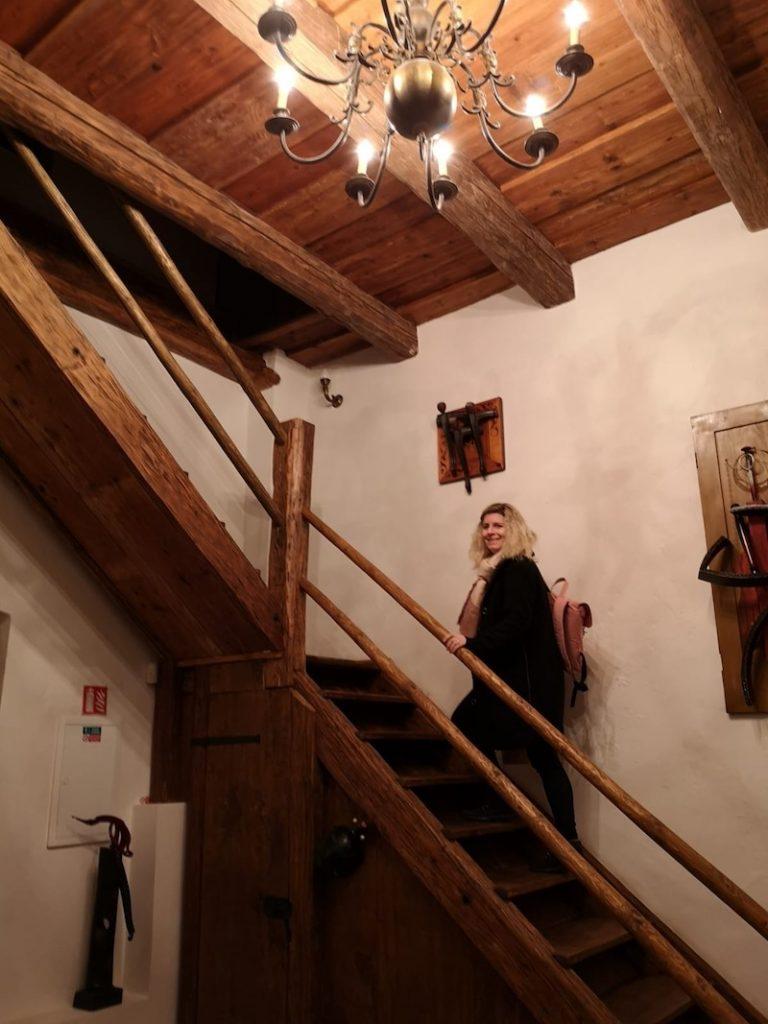 Fyzičku udržíte díky schodům