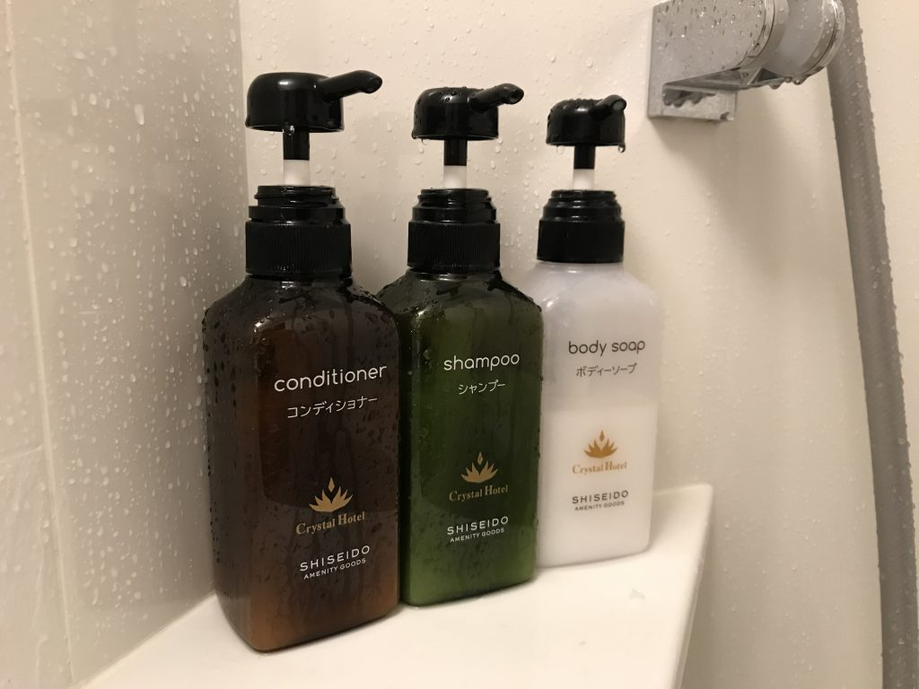 Hygienické potřeby ve všech hotelích vždy k dispozici