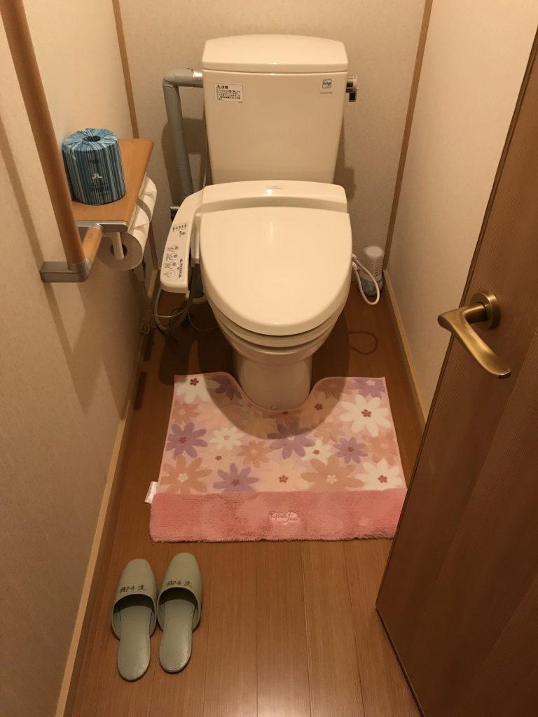 Na WC se přezouvá