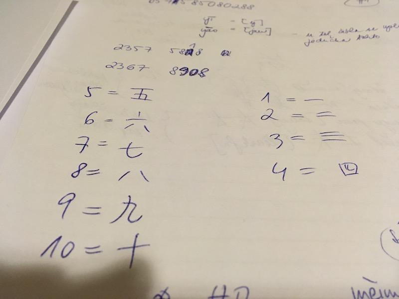 Znát číslovky v čínštině se na Taiwanu vyplatilo.