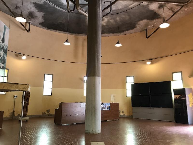 Muzeum těžby uhlí na jihu Sardínie