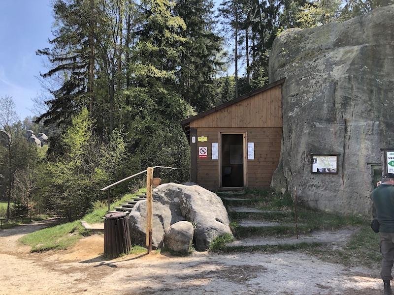 Alternativní vstup do Skalního města Adršpach