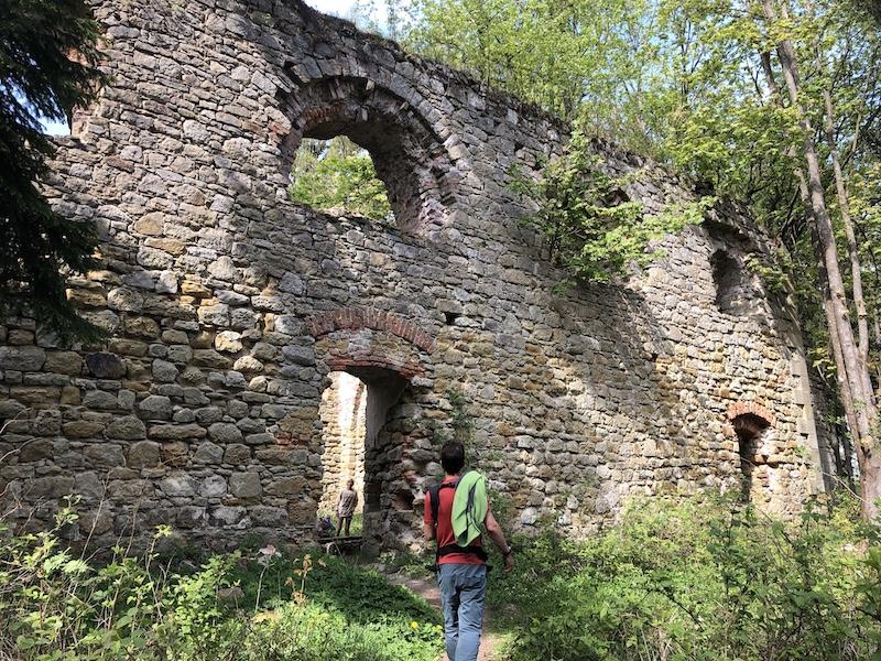 Ruina kostela na Kopečku
