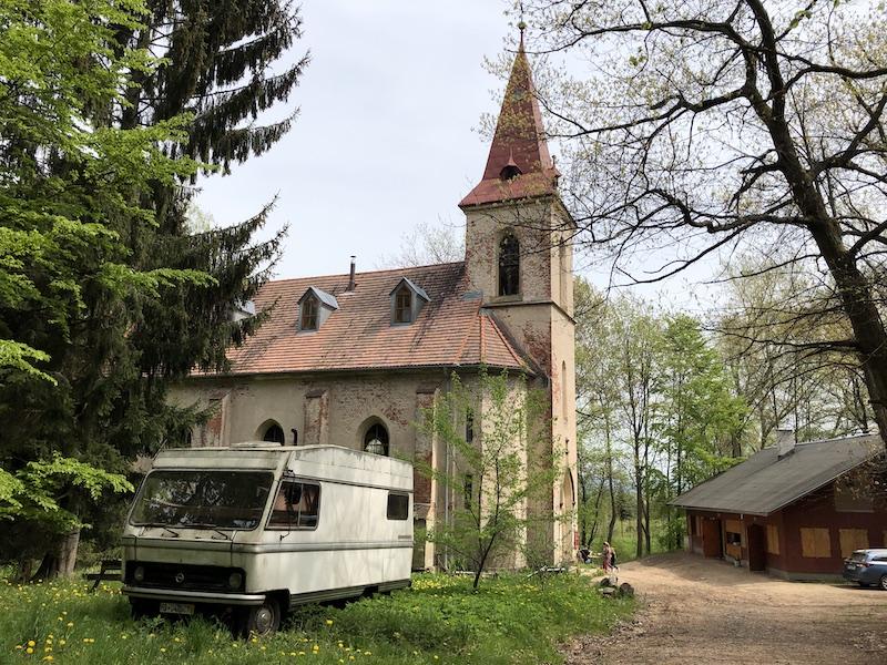 Soukromý kostel i bývalého pionýrského tábora