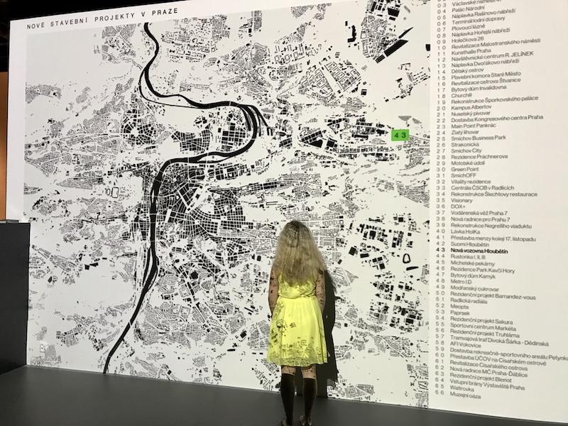 Mapa Prahy v CAMPu