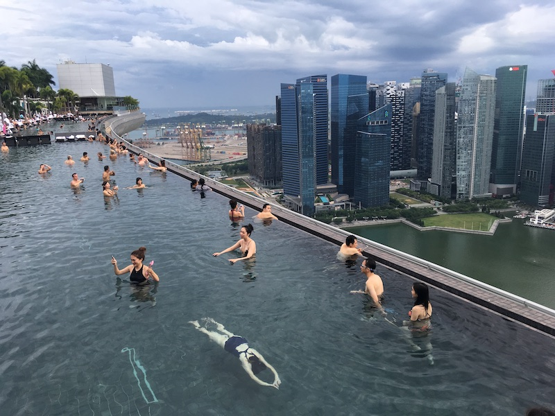 Třeba takovej bazén bych si dala líbit