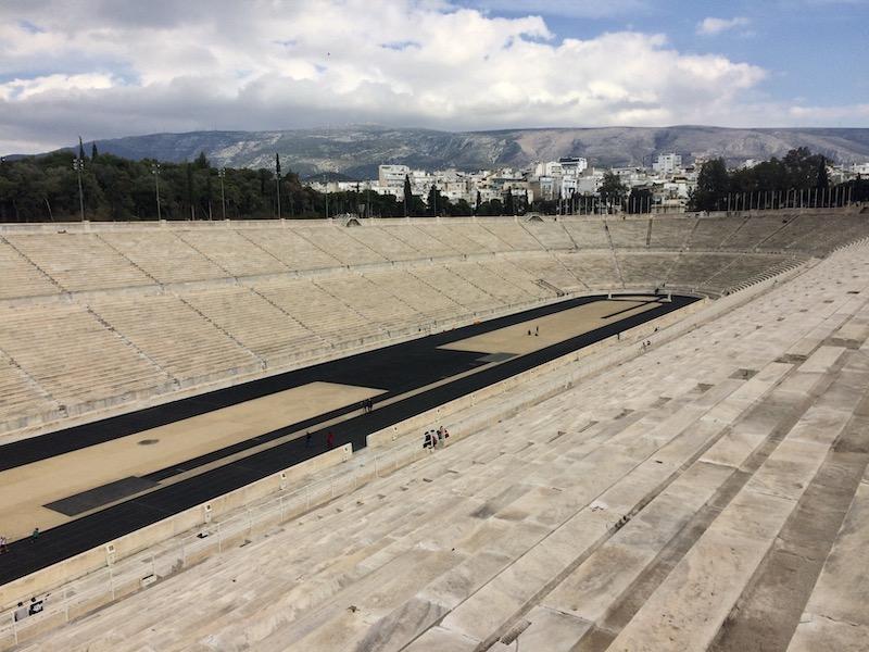 atény olympijský stadion