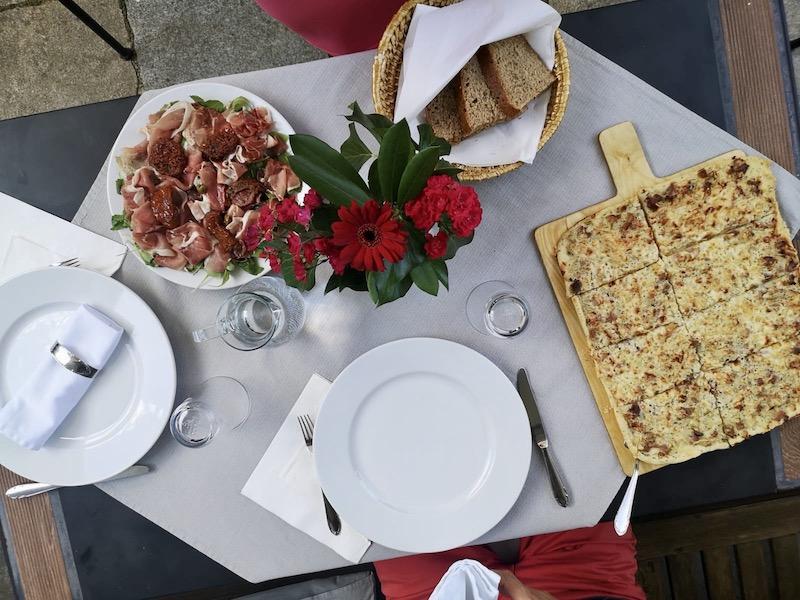 Večeře v Penzionu V Kapli