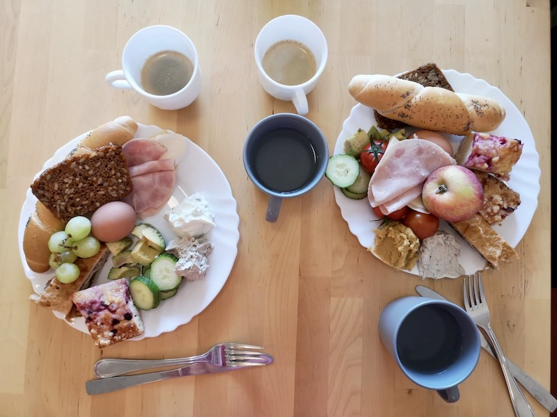 Snídaně v klášteře