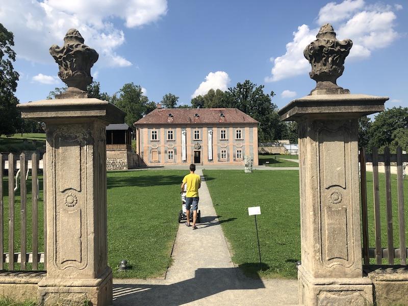 Zahrady kláštera