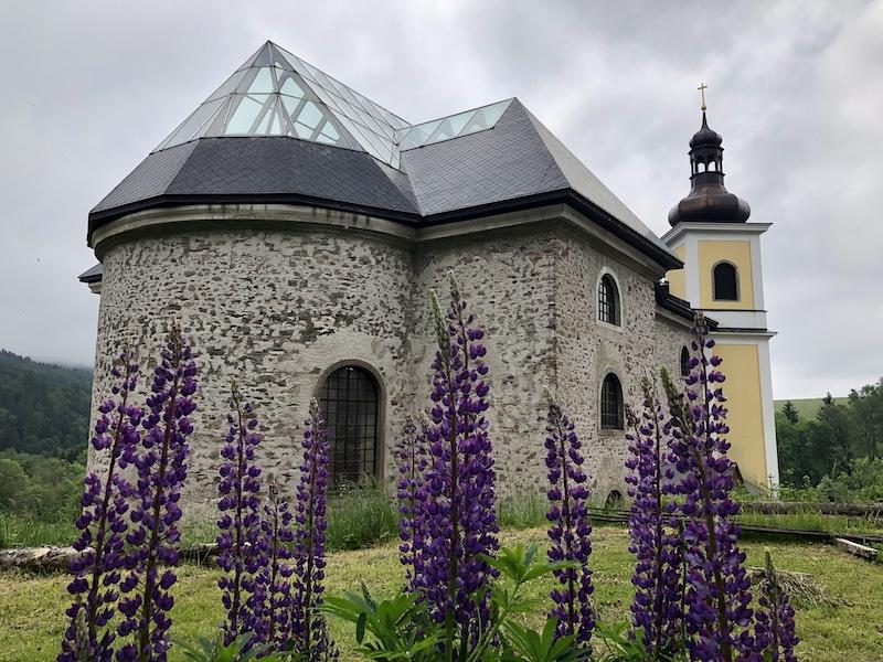 Kostel Neratovice v Orlických horách
