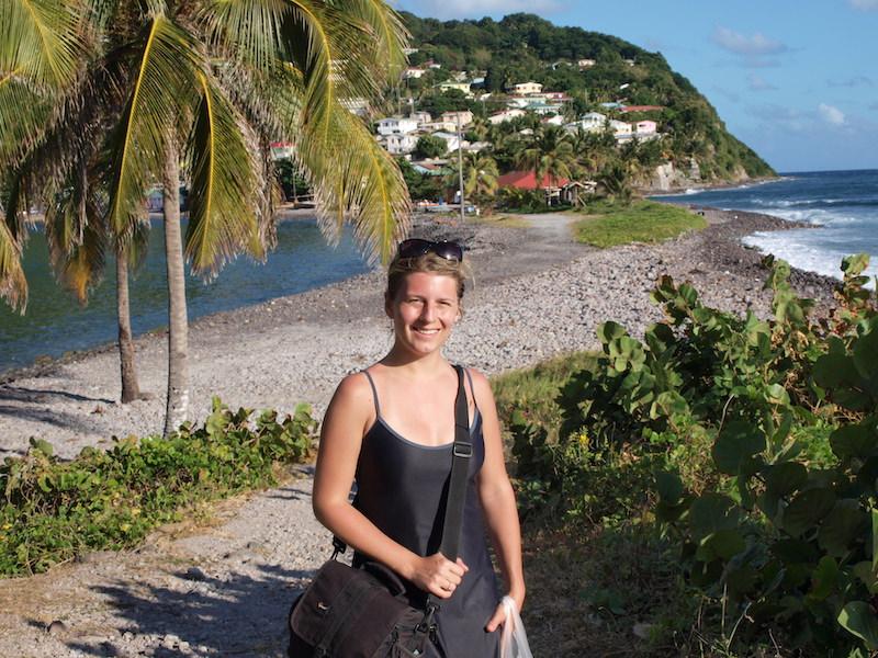 Karibik ostrov Dominika