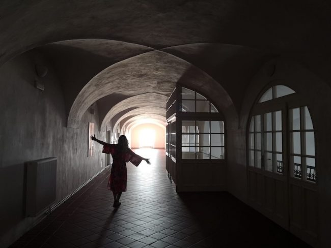 Ubytování v Broumovském klášteře