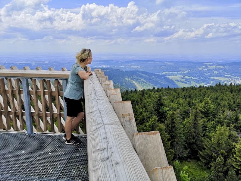 Cesta nahoru je pro ty, co se bojí výšek, trochu oříšek