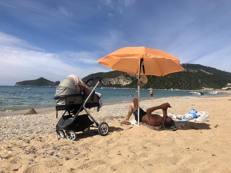 Pláž Agios Georgios