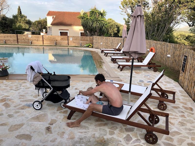 ubytování na Korfu