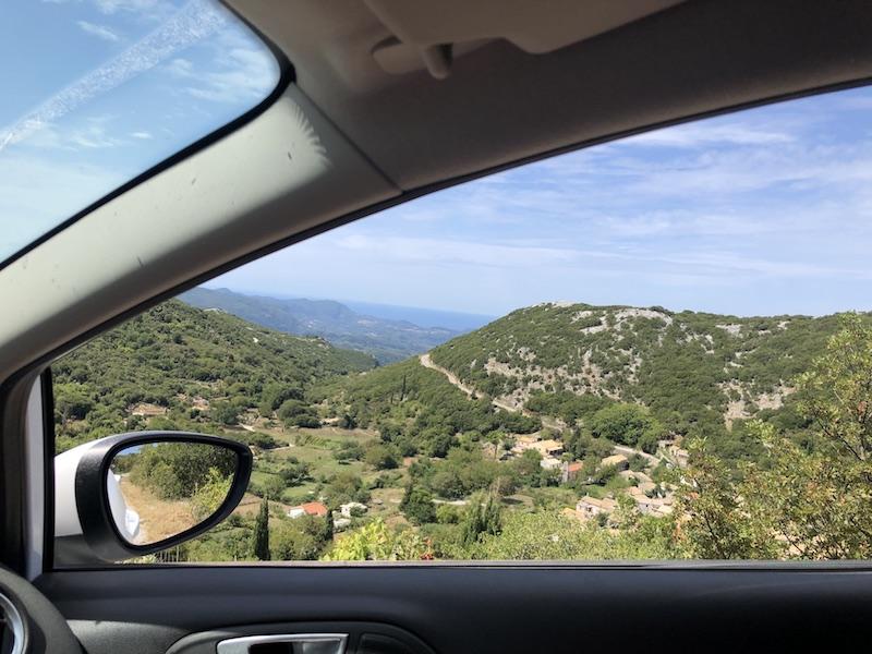 Ostrov Korfu není žádná vyschlá placka