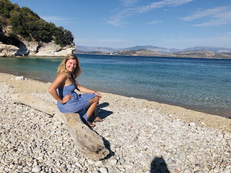 Akoli beach Korfu