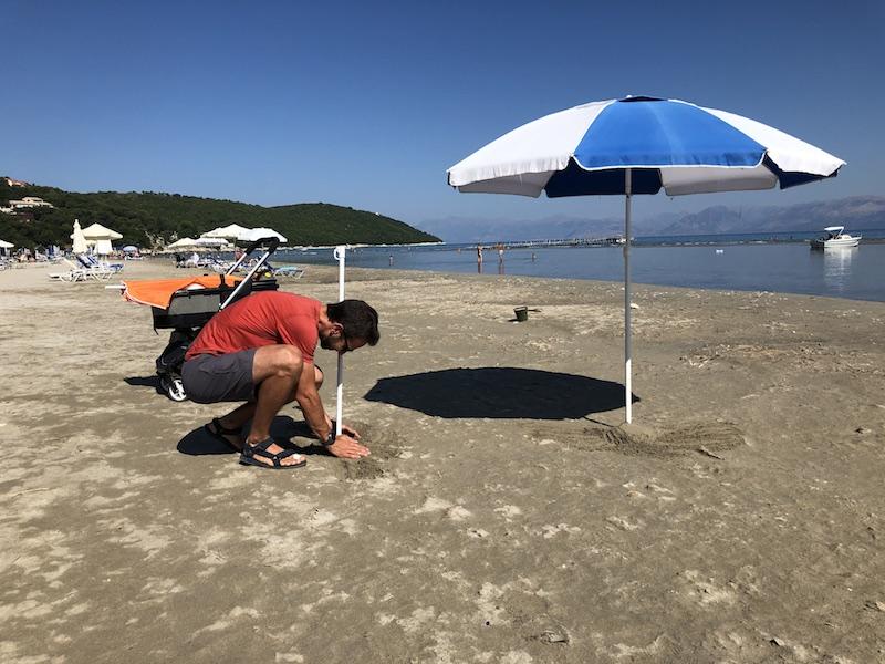 Apraos beach Korfu