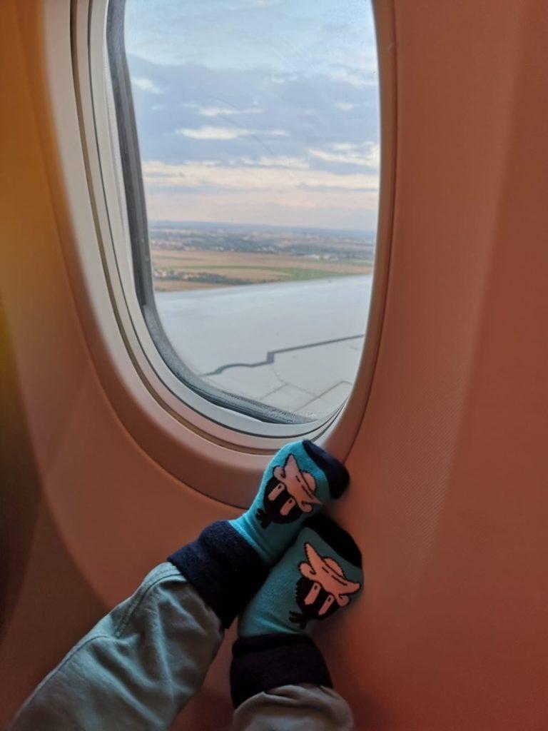 Pohoda v letadle