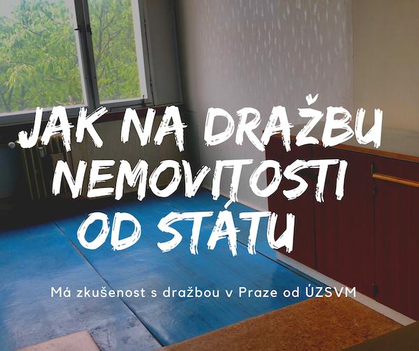 Jak na dražbu nemovitosti od státu v Praze