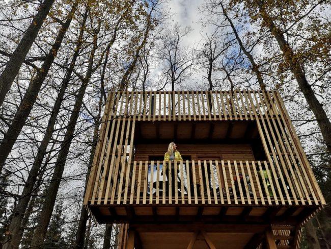 Stromovny netradiční hotel - treehouse