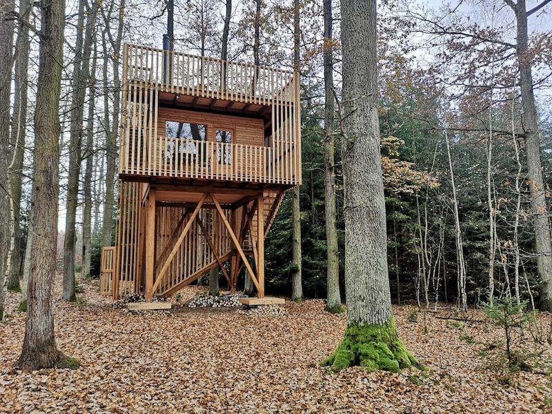 Treehouse nedaleko Budějic