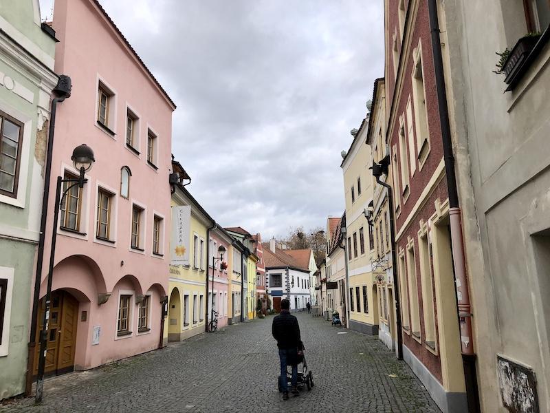 Panská ulice v Budějicích