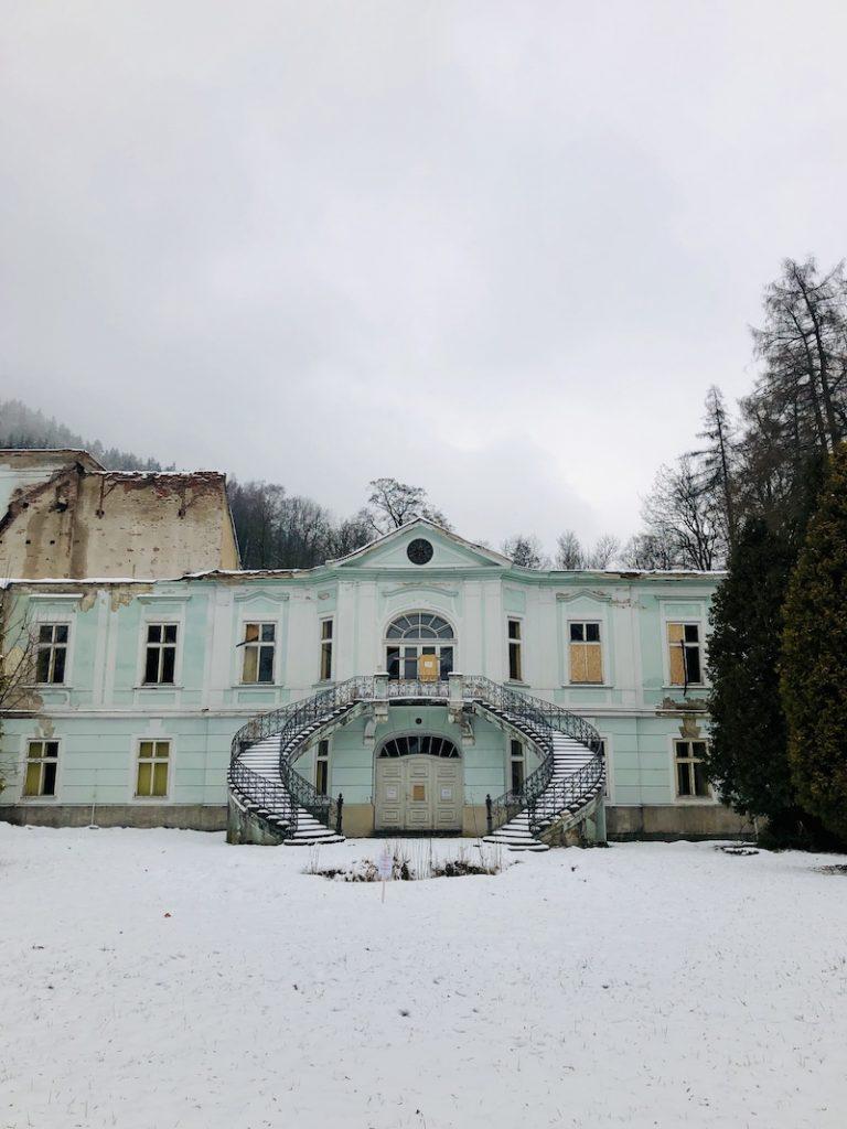 Starý zámek v Horním Maršově